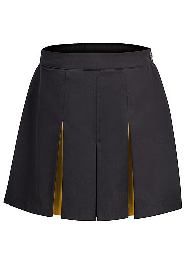 Culottes with Contrast Panels